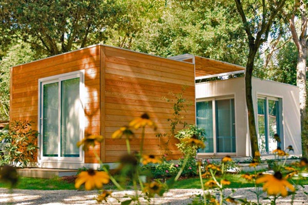 Chalet bungalow e case mobili per villaggi turistici e for Prefabbricati case